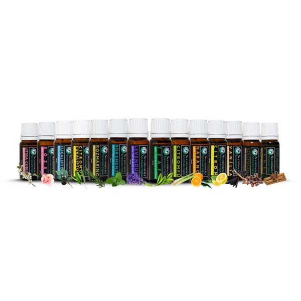 100% Tisztaságú 14 Darabos Aromaterápiás Illóolaj Csomag