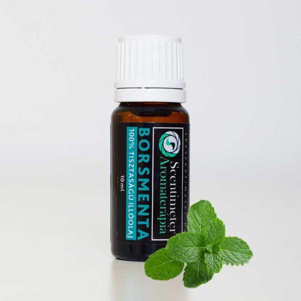 Természetes 100%-os Tisztaságú Aromaterápiás Borsmenta Illóolaj