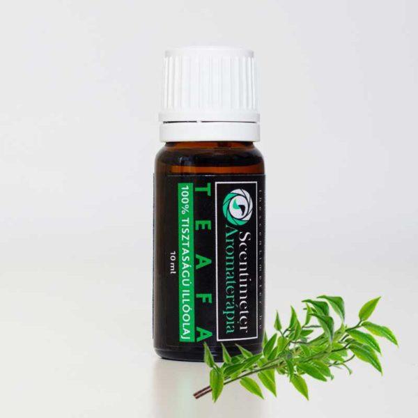 Természetes 100%-os Tisztaságú Aromaterápiás Teafa Illóolaj